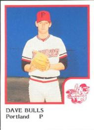 1986 Pro Set #2 Dave Bulls NM-MT Portland Beavers