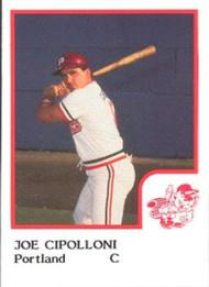 1986 Pro Set #3 Joe Cipolloni NM-MT Portland Beavers