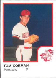 1986 Pro Set #7 Tom Gorman NM-MT Portland Beavers