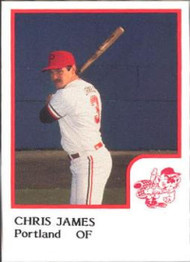 1986 Pro Set #10 Chris James NM-MT Portland Beavers