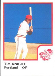 1986 Pro Set #12 Tim Knight NM-MT Portland Beavers