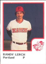 1986 Pro Set #14 Randy Lerch NM-MT Portland Beavers