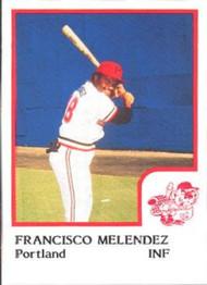 1986 Pro Set #16 Francisco Melendez NM-MT Portland Beavers