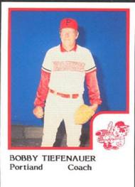 1986 Pro Set #22 Bobby Tiefenauer NM-MT Portland Beavers