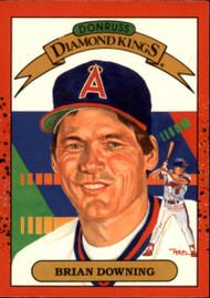 1990 Donruss #10b Brian Downing DK COR NM-MT California Angels