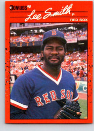 1990 Donruss #110 Lee Smith NM-MT Boston Red Sox