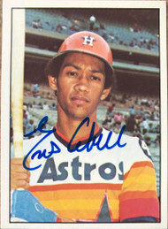 Enos Cabell Autographed 1976 SSPC #61