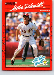 1990 Donruss #643 Mike Schmidt NM-MT Philadelphia Phillies