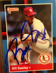 Bill Dawley Autographed 1988 Donruss #331