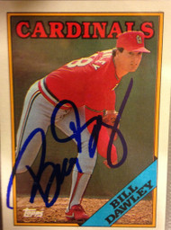 Bill Dawley Autographed 1988 Topps #509