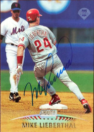 Mike Lieberthal Autographed 1999 Stadium Club #201