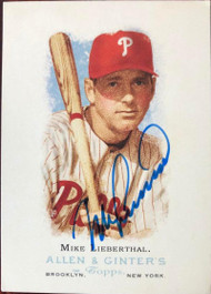 Mike Lieberthal Autographed 2006 Topps Allen & Ginter #130