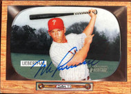 Mike Lieberthal Autographed 2004 Bowman Heritage #18