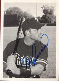 Mike Lieberthal Autographed 2001 Bowman Heritage #229