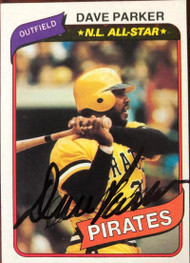 Dave Parker Autographed 1980 Topps #310