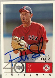 Freddy Sanchez Autographed 2003 Upper Deck 40 Man #228
