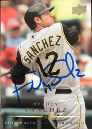 Freddy Sanchez Autographed 2008 Upper Deck #371 CL