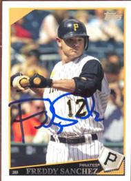 Freddy Sanchez Autographed 2009 Topps #447