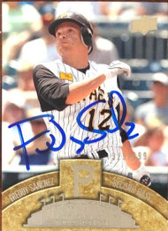 Freddy Sanchez Autographed 2008 Upper Deck Ballpark Collection #29 LE 329/699