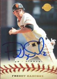 Freddy Sanchez Autographed 2009 Upper Deck Sweet Spot #33