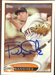 Freddy Sanchez Autographed 2012 Topps #561