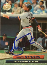 Mickey Tettleton Autographed 1992 Fleer Ultra #63