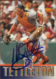 Mickey Tettleton Autographed 1994 Triple Play #248