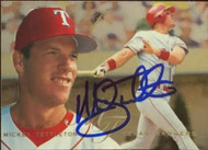 Mickey Tettleton Autographed 1995 Flair #311