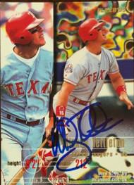 Mickey Tettleton Autographed 1995 Fleer Update #U-87