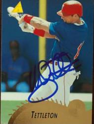 Mickey Tettleton Autographed 1995 Pinnacle #375