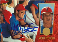 Mickey Tettleton Autographed 1995 Score Select #222