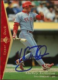 Mickey Tettleton Autographed 1995 SP #194