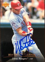 Mickey Tettleton Autographed 1995 Upper Deck #479