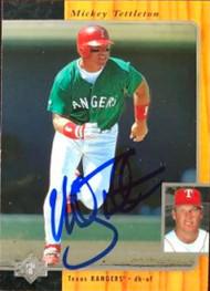 Mickey Tettleton Autographed 1996 SP #176