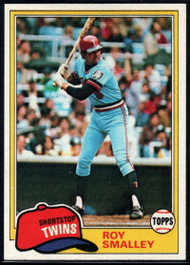 1981 Topps #115 Roy Smalley VG Minnesota Twins