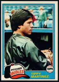 1981 Topps #119 Tippy Martinez VG Baltimore Orioles