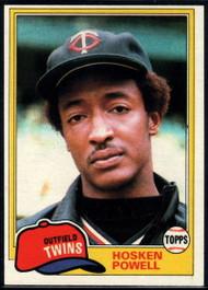 1981 Topps #137 Hosken Powell VG Minnesota Twins