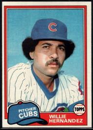 1981 Topps #238 Willie Hernandez VG Chicago Cubs