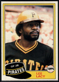 1981 Topps #332 Lee Lacy DP VG Pittsburgh Pirates
