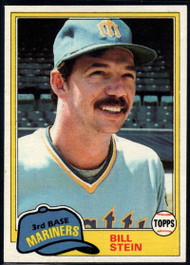 1981 Topps #532 Bill Stein VG Seattle Mariners