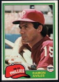 1981 Topps #644 Ramon Aviles DP VG Philadelphia Phillies