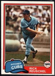 1981 Topps #645 Rick Reuschel VG Chicago Cubs