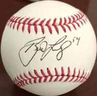 Brad Lidge Autographed ROMLB Baseball