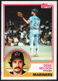 1983 Topps #106 Gene Nelson VG Seattle Mariners