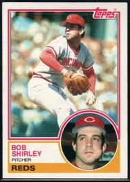 1983 Topps #112 Bob Shirley VG Cincinnati Reds