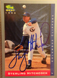 Sterling Hitchcock Autographed 1993 Classic Best Minor League #74