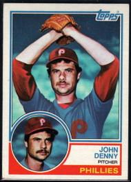 1983 Topps #211 John Denny VG Philadelphia Phillies