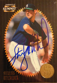 Sterling Hitchcock Autographed 1996 Pinnacle Summit (Base) #41