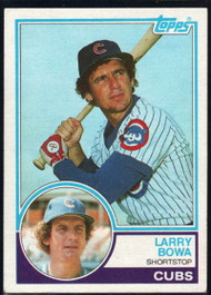 1983 Topps #305 Larry Bowa VG Chicago Cubs