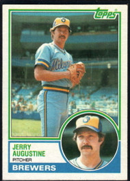 1983 Topps #424 Jerry Augustine VG Milwaukee Brewers